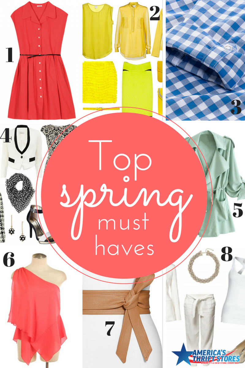 Must Have Spring Looks  Americas Thrift Stores