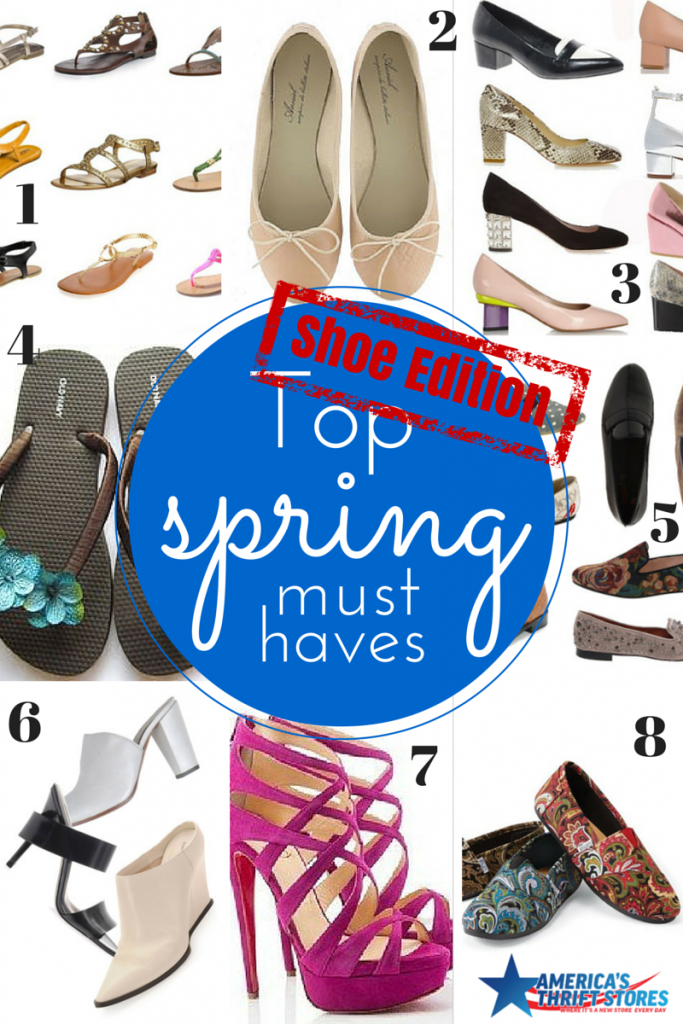 Top Spring Must haves - shoe